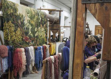 La Fábrica de Tapices recibe su mayor encargo en 200 años
