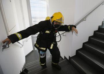 El esfuerzo de subir 30 pisos en cinco minutos