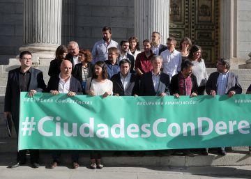 """Madrid se une a las ciudades """"del cambio"""" contra la ley Montoro"""