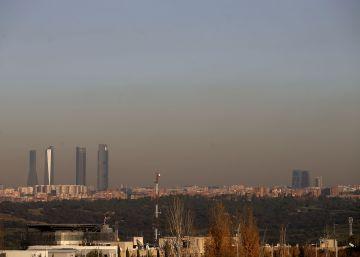 Madrid superó tres veces el nivel de aviso por contaminación en octubre