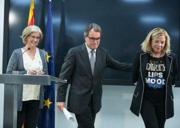 El TSJ catalán procesa a Artur Mas por desobediencia y prevaricación
