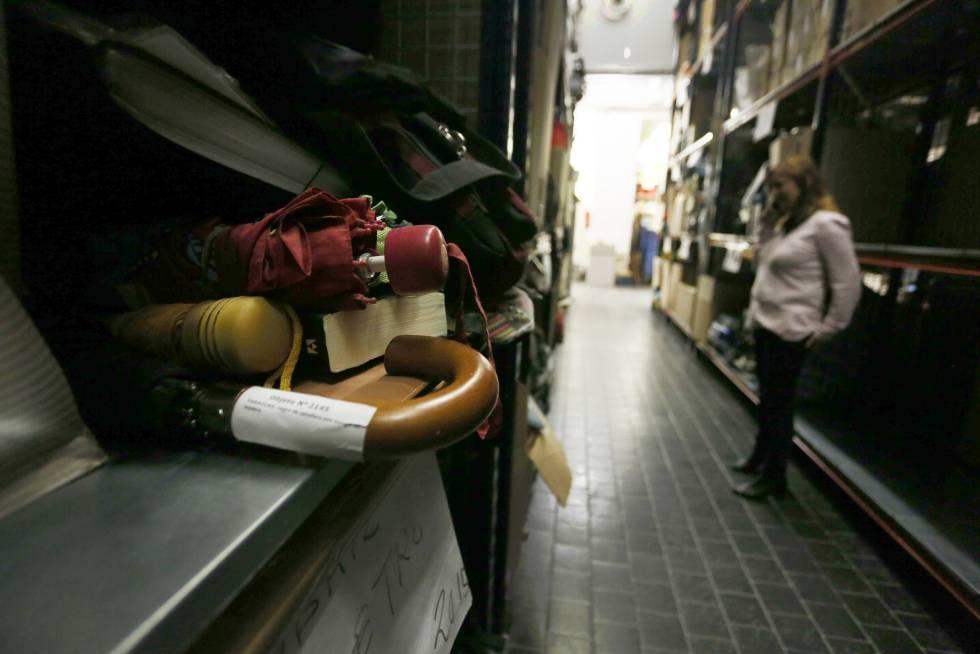 La segunda vida de los objetos perdidos madrid el pa s - Oficina de objetos perdidos ...