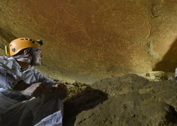 Hallan en Bizkaia unos 50 grabados de 14.000 años de antigüedad