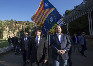 Puigdemont dice que ninguna ley frenará la voluntad de los catalanes