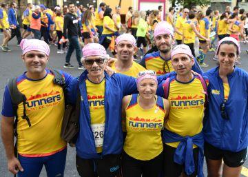 Correr contra el cáncer de mama