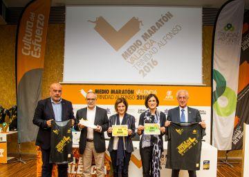 Valencia organiza un medio maratón de oro