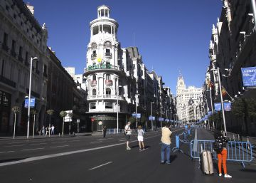 Carmena quiere peatonalizar parte de la Gran Vía antes de 2019