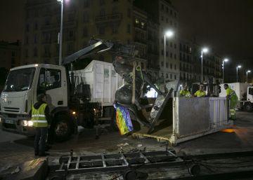 La estatua de Franco aflora viejos y nuevos conflictos