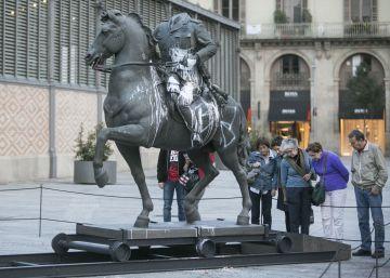 """""""El daño a la escultura es irreparable"""""""