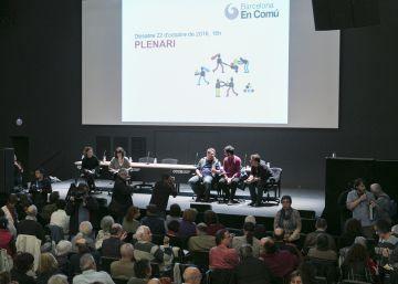 Barcelona en Comú prevé crear en marzo el nuevo partido de izquierdas