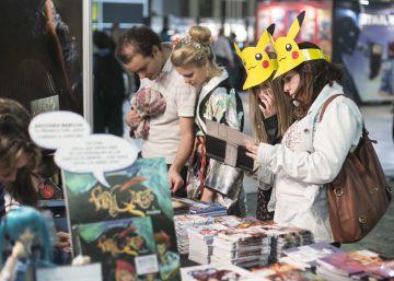 Visitantes del Salón del Manga de 2014.