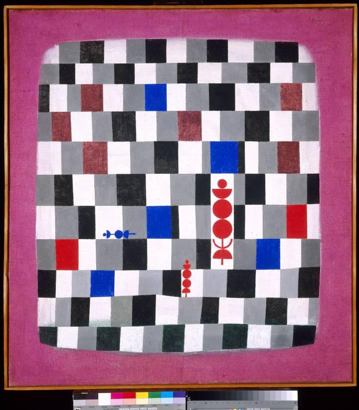 'Gran tablero de ajedrez', de Paul Klee.