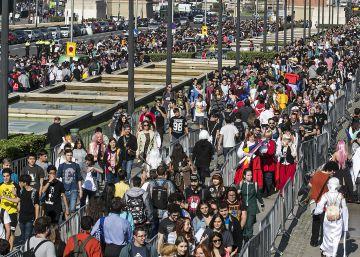 El gran carnaval del manga inunda la Fira de Montjuïc
