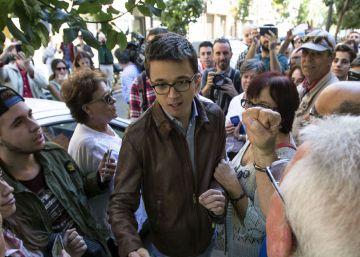 Errejón asegura que Podemos no permitirá que el PP regrese a la Generalitat