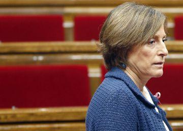 El TSJ catalán rechaza el recurso de Forcadell contra su imputación por desobediencia