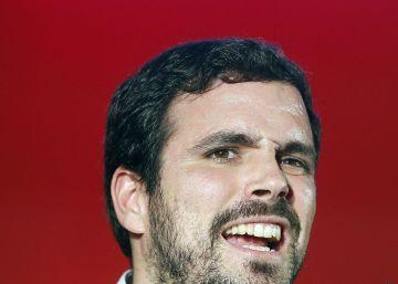 Garzón choca con Iglesias por el discurso de Rufián en el Congreso