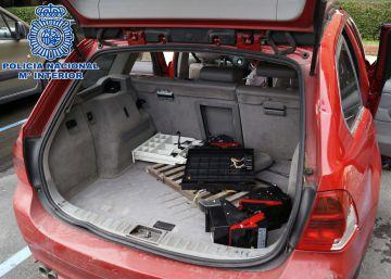 Dos detenidos por robar locales por el método del alcantarillazo