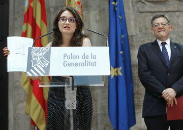 """Oltra tacha de """"ninguneo"""" la falta de valencianos en el Gobierno de Rajoy"""