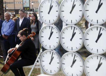 Las víctimas del metro erigen 'Prime time' para que nadie olvide