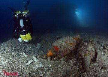 Las Illes Formigues cobijan el pecio romano mejor conservado de Cataluña