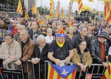El independentismo se moviliza en apoyo de sus políticos encausados