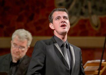 Jaroussky seduce con Bach en su debut en el Palau