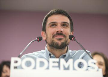El portavoz de Podemos se aferra a su puesto en la Asamblea