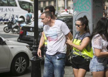 Detenidos dos Pink Panthers que robaron en joyerías de Barcelona