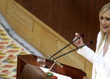 Cifuentes dice que su política fiscal financia servicios básicos en Andalucía