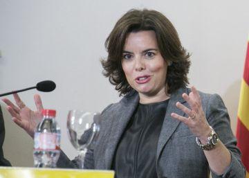 """Santamaría y Millo prometen """"diálogo"""" para abordar la cuestión catalana"""