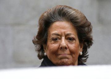 Rita Barberá se protege con un comité del que nadie sabe nada