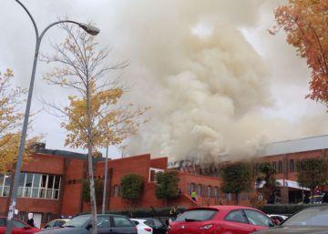 Incendio en el Torreón de Pozuelo