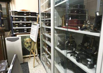El Colegio de Médicos negocia un museo con el legado de Ramón y Cajal