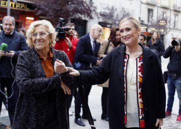 Carmena y Cifuentes aúnan fuerzas para atraer empresas tras el Brexit