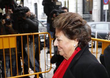 El calvario judicial de Rita Barberá