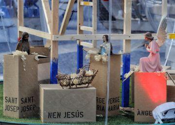 "Barcelona's nativity scene: ""contemporary"" or ""twisted""?"