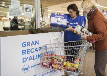 El Gran Recapte pide alimentos con alto valor nutritivo