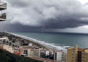 El temporal barre el litoral de Valencia