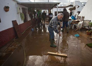 Vejer pide la declaración de zona catastrófica por los daños de las lluvias