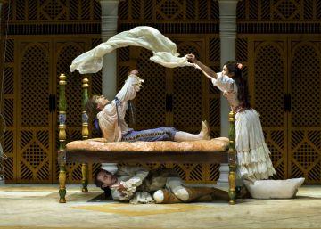 Boda doble en el Teatre Lliure