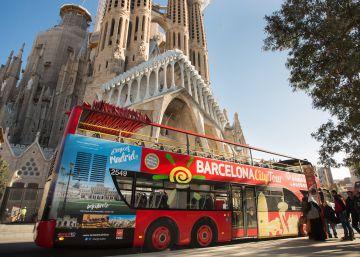 Madrid se sube a los autobuses de Barcelona para hacerse publicidad