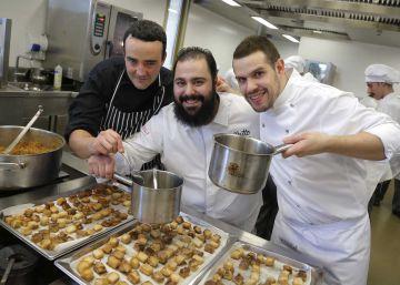 Un bacalao sobre guisantes, premio Basque Culinary-Eroski