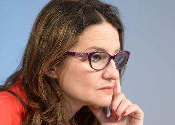 """Mónica Oltra: """"No podemos comulgar con ruedas de molino"""""""