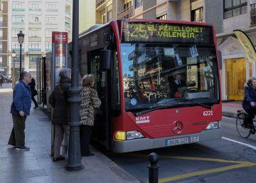 La EMT de Valencia sube el bonobús 50 céntimos