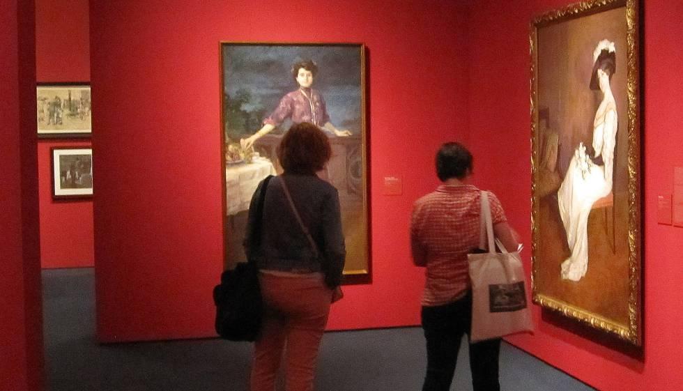 La muestra dedicada a la pintora Lluïsa Vidal en el MNAC, de las pocas sobre mujeres artistas en Barcelona.rn