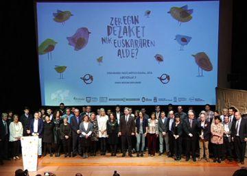 El euskera concita la adhesión de instituciones y agentes sociales