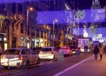 Las empresas de paquetería podrán circular por la Gran Vía en Navidad