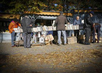Libros que salen a tomar el aire en Madrid