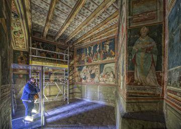 La 'capilla sixtina' de Barcelona se restaurará completamente
