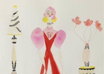 Lydia Delgado expone su faceta de artista plástica